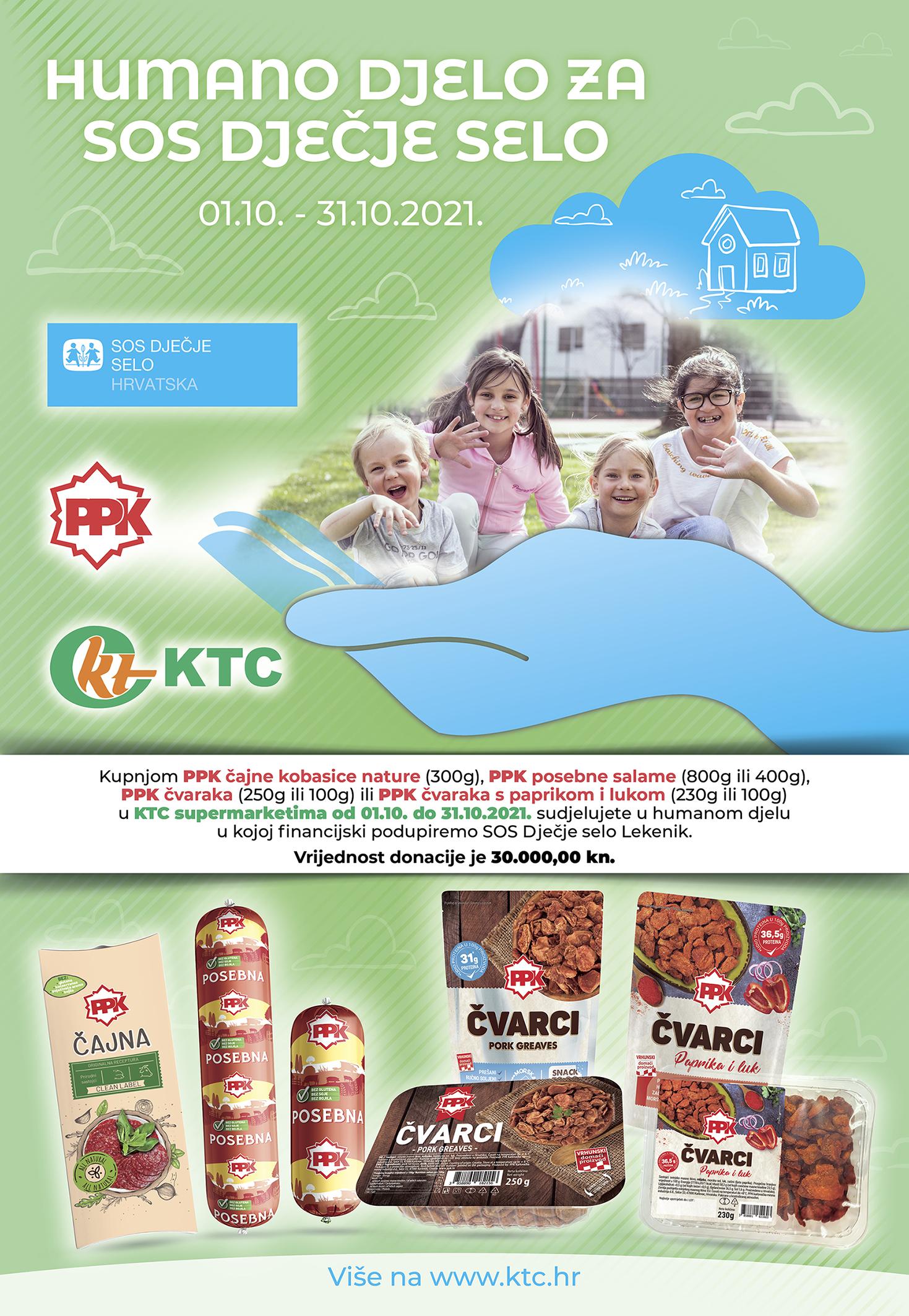 Humanitarna akcija KTC i SOS Dječje selo